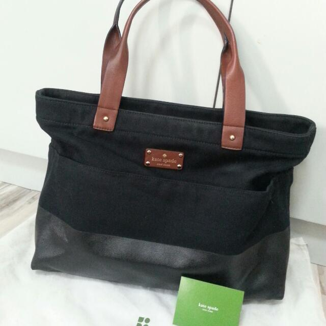 *RESERVED* Authentic KATE SPADE Canvas Tote