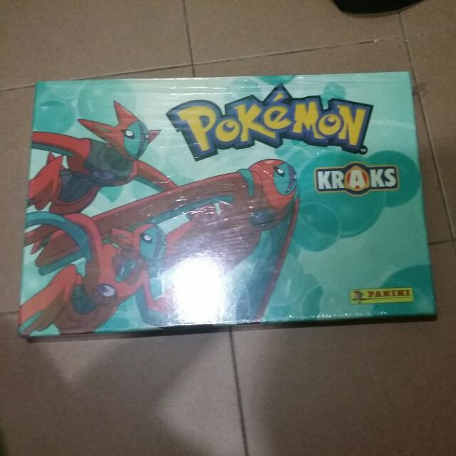 Pokemon Kraks Full Set With Box