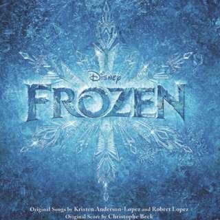 Looking For Frozen Soundtrack Album ❄