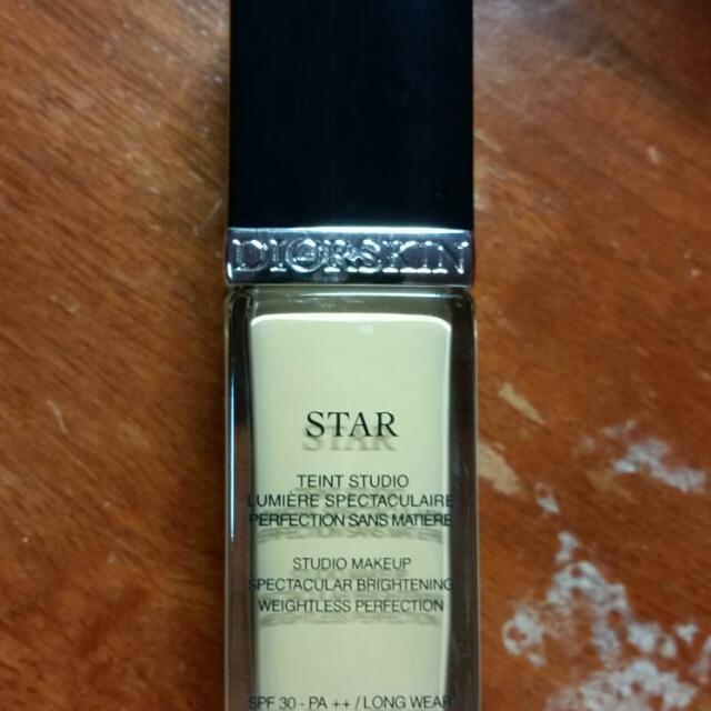 dior star foundation