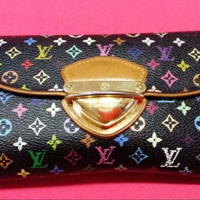 Lv Multicolor Long Wallet