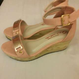 Pretty Pink Wedges