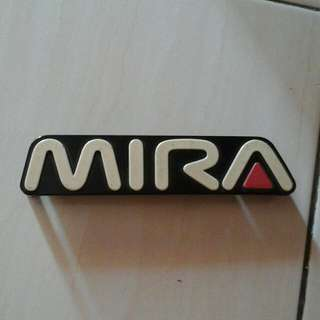 Emblem Bumper Mira L200s