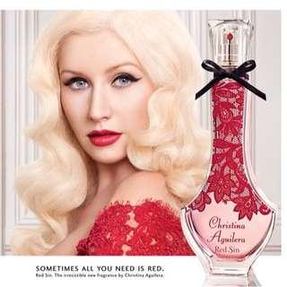 Christina Aguilera Red Sin - Eau De Parfum