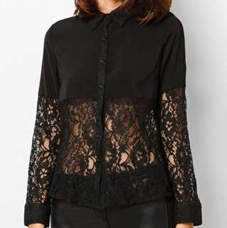 Zalora Lace Top