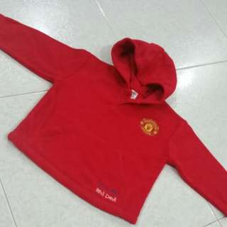 Man Utd Hoodie Jacket for Toddler