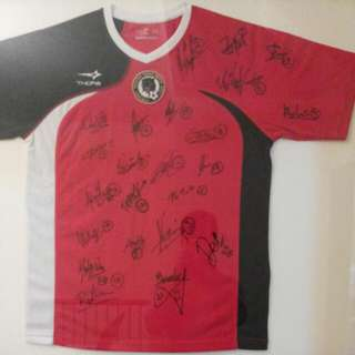 Autographed Jersey By TPUFC 2011