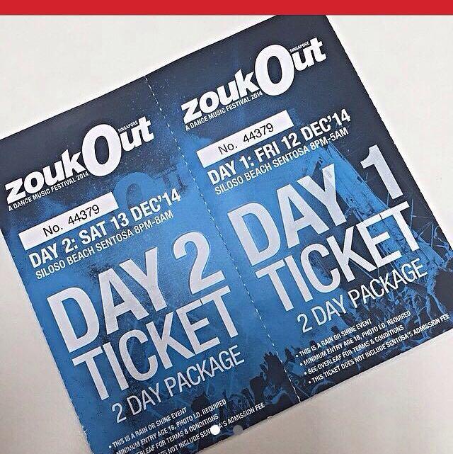 Day 1 Ticket
