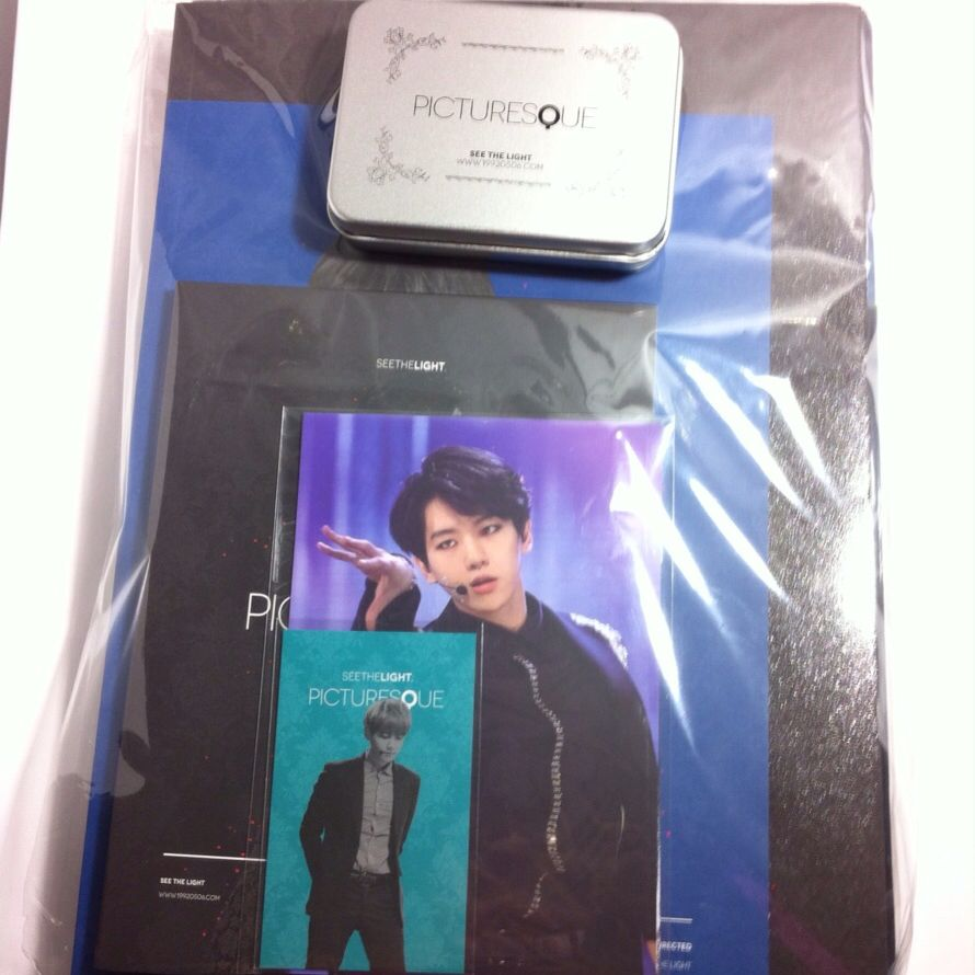 (Pending) EXO Baekhyun Fansite: See The Light 2nd Photobook 'Picturesque'