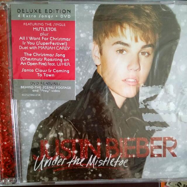 justin bieber mistletoe album deluxe edition everything else on carousell - Justin Bieber Christmas Album