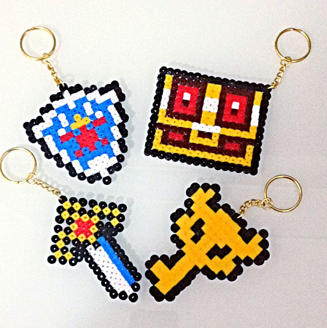Minecraft Items Pyssla Beads Design Craft On Carousell