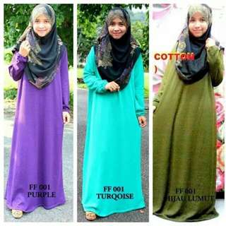 FF001 MAXI DRESS COTTON