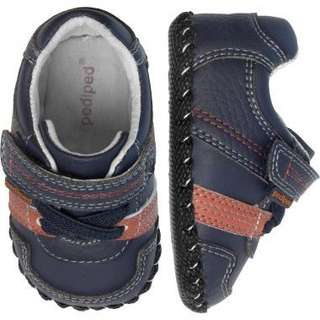 Pediped- Originals - Channing Navy Shoe. 12-18 Mths
