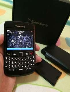 Full Set Blackberry Bold 9780 Black