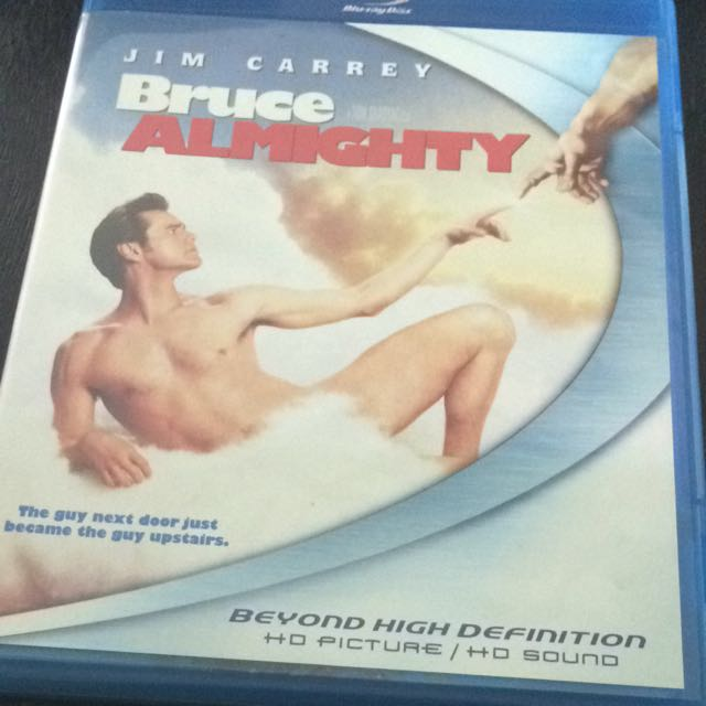 Bruce Almighty Blu-Ray Disc