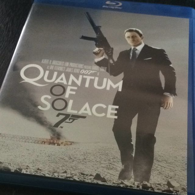 Quantum Of Solace Blu-Ray Disc