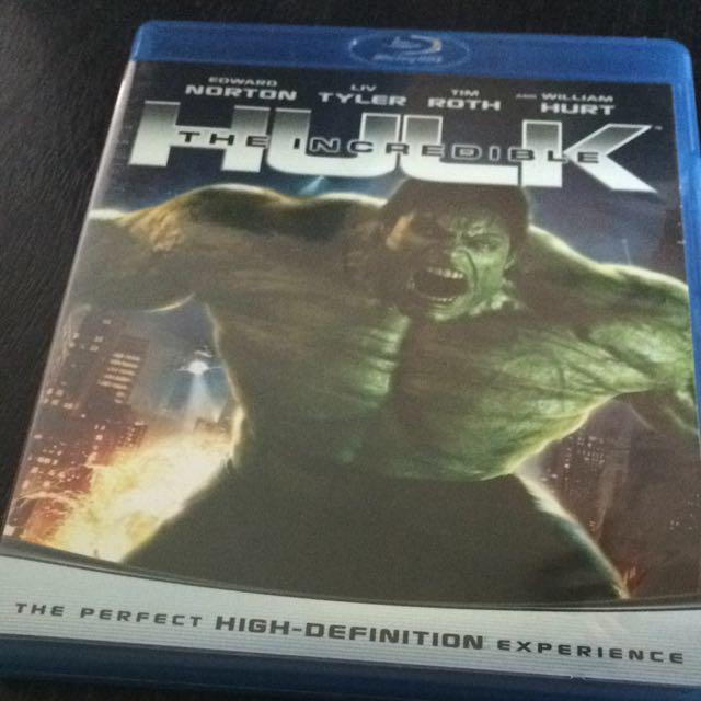 The Incredible Hulk Blu-Ray Disc