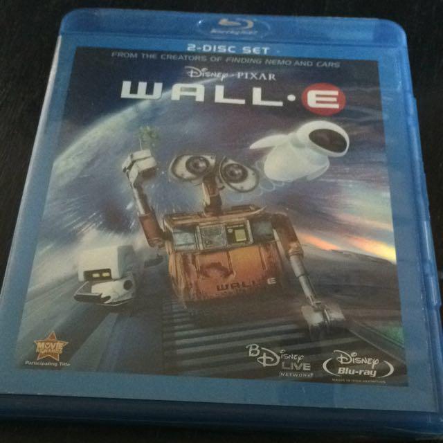 Wall – E Blu-Ray Disc Two Disc Set