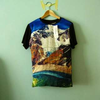 Printed Graphic Top