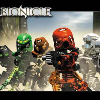 Lego Bionicle Technic Toa