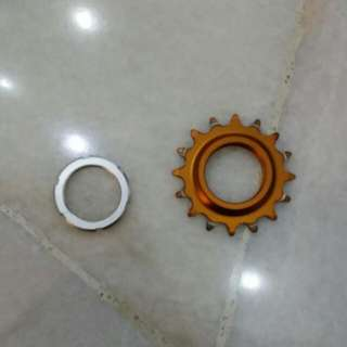 Rear Gear 16T Gold