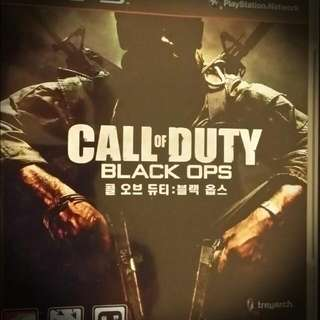 Call Of Duty Black Ops -PS3