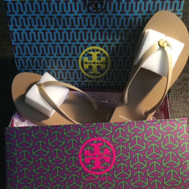 870504bef Brand New Authentic Tory Burch FlipFlop Slippers