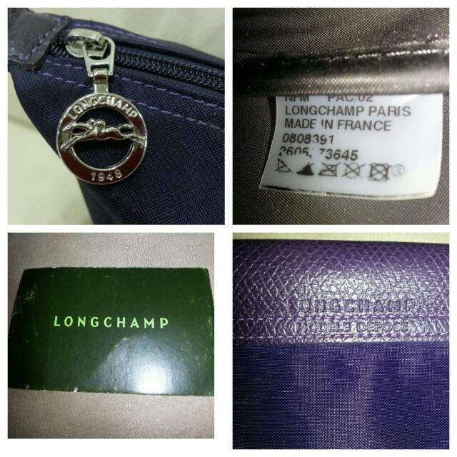 Preloved Authentic Limited Edition Longchamp Le Pliage Insect Badges Bag
