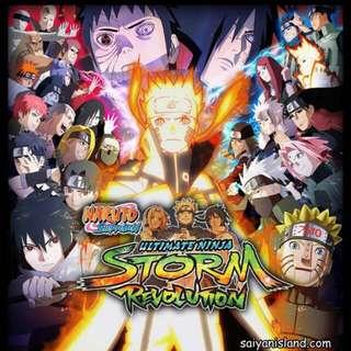 Naruto Storm Revolution PS3