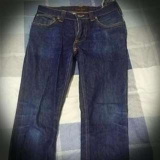 Nudie Skinny Raw Jeans