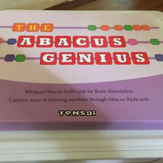 Flash Cards - The Abacus Genius By Tensai Shichida Methods