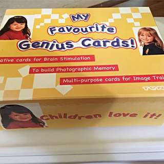 My Favorite Genius Cards