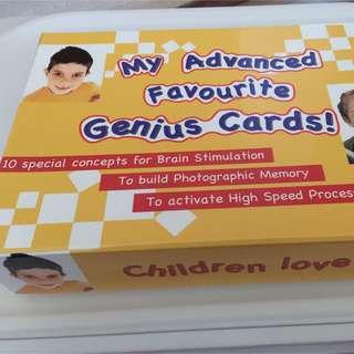 My Advanced Favorite Genius Cards