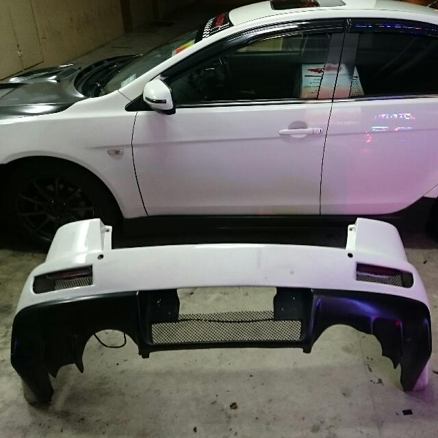 Rear Bumper For Lancer Ex with side vent