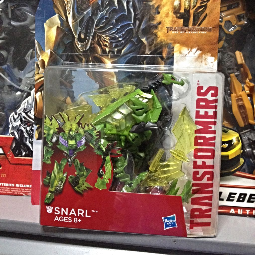 Transformers Age Of Extinction Deluxe Class Snarl