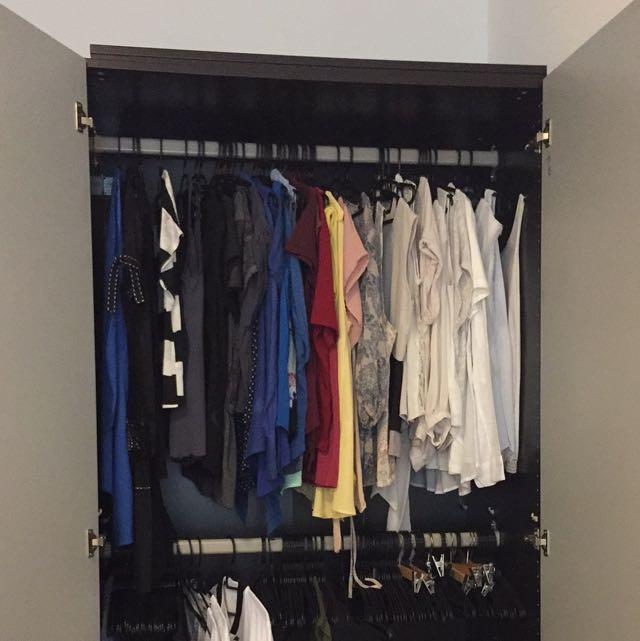 Wardrobe Full Of Clothes