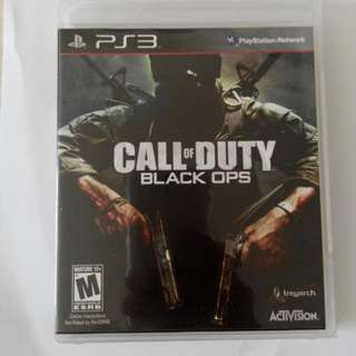 PS3 Game - Call Of Duty Black Ops