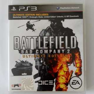 PS3 Game - Battlefield Bad Company 2