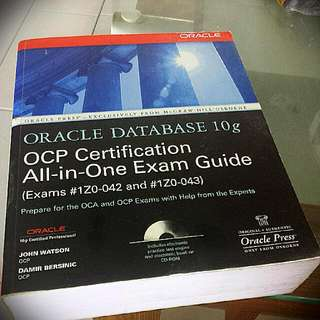 Oracle Database 10g OCP All-in-One Exam Guide