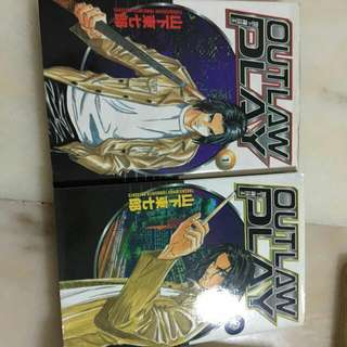 Outlaw Play Comic Book Chinese Version