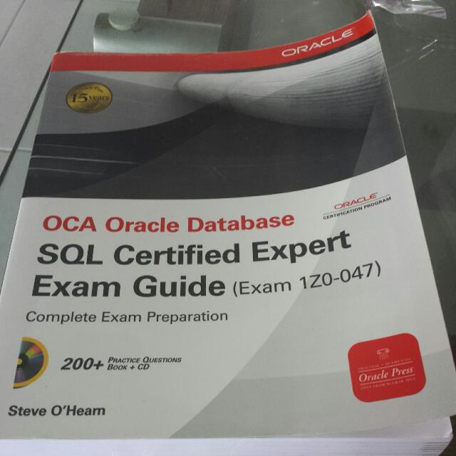 OCA Oracle Database SQL Certified Expert Exam Guide