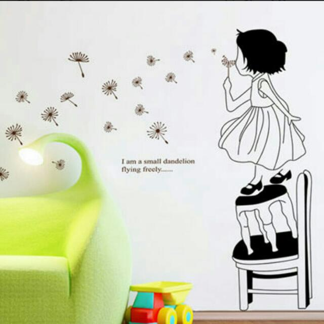 wall-sticker - kids/ adults (bedroom/ living room/ bathroom