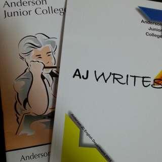 AJ Writes 2013 & 2014