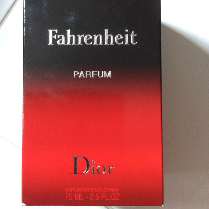 NEGOTIABLE sale asap!! Brand New Fahrenheit Parfum By Dior
