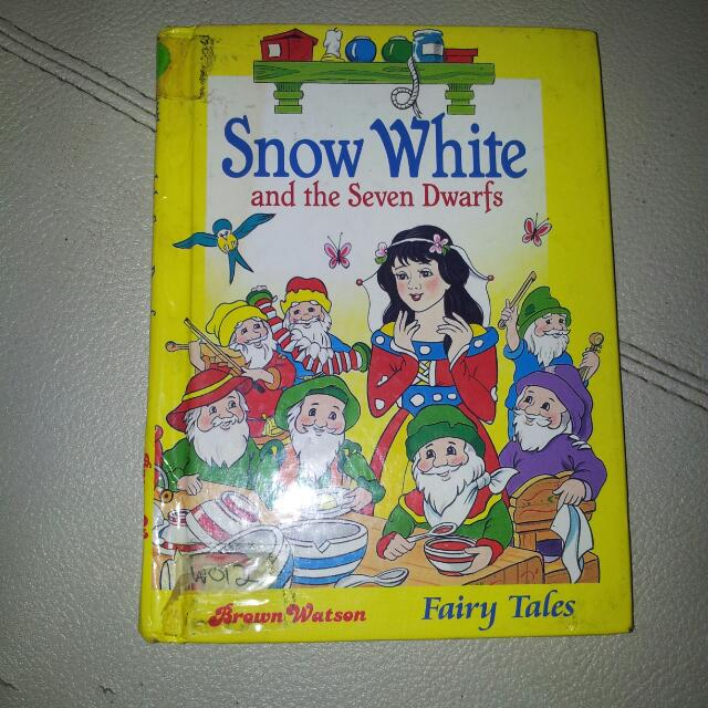 Kids Story Book, Snow White And The Seven Dwarfs