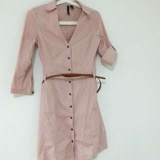 (Pending) MANGO Pink Dress