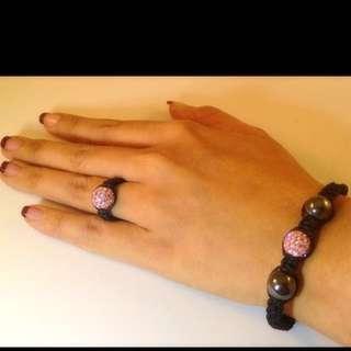 Crystal Ring & Bracelet
