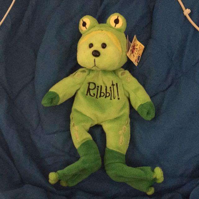 d821445e245 Beanie Kids - Leap The Frog Bear - BK317