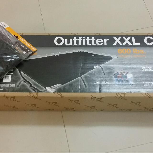Teton Sports Outfitter Xxl Cot And Organizer Sports On Carousell