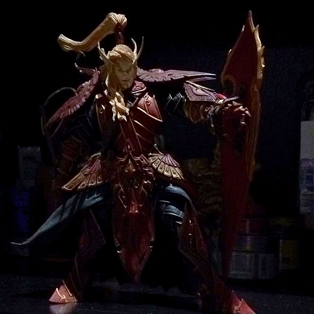 WoW Blood Elf Male Figurine on Carousell